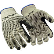 Standard Dot Grip Glove, Natural - Medium, 1 Dozen