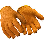 Standard Honeycomb Grip Glove, Orange - Large - Pkg Qty 12