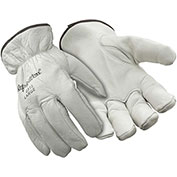 Driver's Glove, White - XL