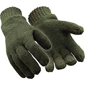 RefrigiWear® 0321RGRNLAR, Insulated Wool Gloves, Large - Pkg Qty 12