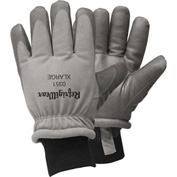 RefrigiWear Dipped Synthetic Leather Gloves, Gray, -25°F Comfort Rating, L