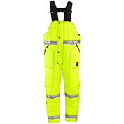 L2 HiVis™ Iron-Tuff™ High Bib Overall Tall, HiVis Lime-Yellow - 3XL