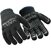 Herringbone Grip Glove, Black - Large - Pkg Qty 12