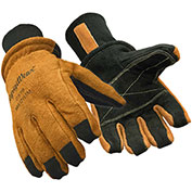 RefrigiWear Pro Ergo Premium Cowhide Gloves, Brown, -30°F Comfort Rating, M