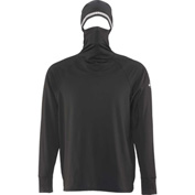 RefrigiWear Hooded Base Layer, Black, 4XL