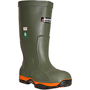 RefrigiWear Ice Bear Boots, Green, -50°F Comfort Rating, Size 8