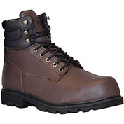 RefrigiWear Classic Leather Boots, Brown, -15°F Comfort Rating, Size 6