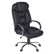 Regency Big and Tall Swivel Chair - Black - Goliath Series