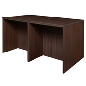 Regency Stand Up 2 Desk - Storage Cabinet - Lateral File Quad - Java - Legacy Series