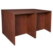 Regency Stand Up Desk Quad - Cherry - Legacy Series