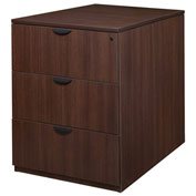 Regency Stand Up Back-to-Back Lateral File and Desk - Java - Legacy Series