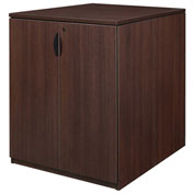 Regency Stand Up Back-to-Back Storage Cabinet and Desk - Java - Legacy Series