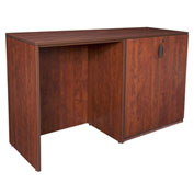 Regency Stand Up Side-to-Side Storage Cabinet and Desk - Cherry - Legacy Series