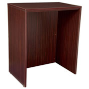 Regency Stand Up Desk - Mahogany - Legacy Series