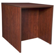 Regency Stand Up Back-to-Back Desks - Cherry - Legacy Series