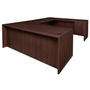 "Regency 71"" U Shape Workstation - Java - Manager Series"
