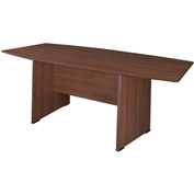 "Regency Conference Table - Boat Shape 71"" x 35"" - Java - Manager Series"