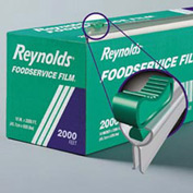 "Reynolds® REY 914SC -  18"" Foodservice Film Roll w/ Easy Glide Slide Cutter"