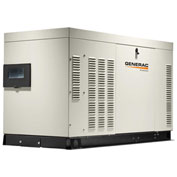 Generac RG04524ANAC, 45kW, 120/240 1-Phase, Liquid Cooled Protector Generator, NG/LP, Alum. Encl.