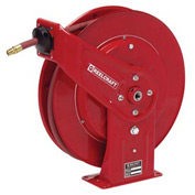 "Reelcraft 7850 OLP121 1/2"" x 50' 300PSI Heavy Duty Spring Rewind Hose Reel For Air/Water"
