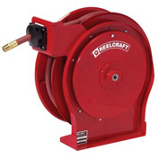 "Reelcraft A5835 OLP 1/2"" x 35' 300PSI Premium Duty Retractable Hose Reel For Air/Water"