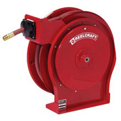 "Reelcraft A5850 OLP 1/2"" x 50' 300PSI Premium Duty Retractable Hose Reel For Air/Water"