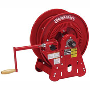 "Reelcraft BA34112 M 1/2"" x 100' Twin Hydraulic Bevel Crank Hose Reel 3000 psi Without Hose"