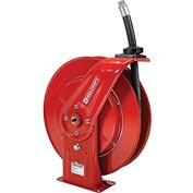 "Reelcraft F7925 OLP 3/4"" x 25' 250PSI Retractable Fuel Delivery Hose Reel w/ Hose"
