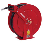 "Reelcraft FD83075 OLP 3/4"" x 75' 250PSI Retractable Fuel Delivery Hose Reel w/ Hose"