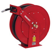 "Reelcraft FD84050 OLP 1"" x 50' 250PSI Retractable Fuel Delivery Hose Reel w/ Hose"