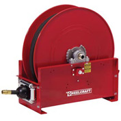 "Reelcraft FE9350 OLPBW 3/4"" x 50' 250PSI Retractable Fuel Delivery Hose Reel w/ Hose"