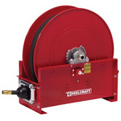 "Reelcraft FE9450 OLPBW 1"" x 50' 250PSI Retractable Fuel Delivery Hose Reel w/ Hose"
