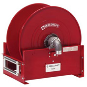 "Reelcraft FF9500 OLPBW 1-1/4"" x 50' 600PSI Retractable Fuel Delivery Hose Reel w/out Hose"