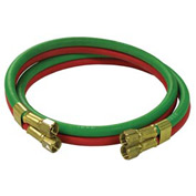 Reelcraft S600100-4 1/4 dual x 4, 200 psi,Twin Welding Oxygen/Acetylene RM Grade Inlet Hose Assembly