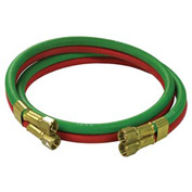Reelcraft S601031-4 1/4 dual x 4, 200 psi, Twin Welding T-Grade Inlet Hose Assembly