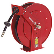 "Reelcraft TH88050 OMP 1/2"" x 50ft Twin Hydraulic Spring Retractable Hose Reel 2000 psi With Hose"