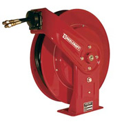 "Reelcraft THA7630 OMP 3/8"" x 30ft Twin Hydraulic Spring Retractable Hose Reel 3000 psi With Hose"
