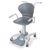 Rice Lake Digital Medical Chair Scale with Plastic Seat 660 Lbs x 0.2 Lbs
