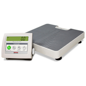 Rice Lake Medical Platform Fitness Digital Floor Scale w/ Adaptor 600 Lbs x 0.1 Lbs NTEP Approved