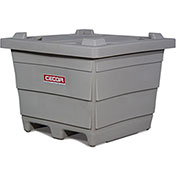 CECOR® Poly Bin Lid LID-P28 for Multipurpose Poly Bin OA-P28 - Gray