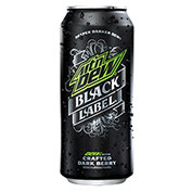 Mountain Dew Black Label Soda 16 oz Cans - Pack of 12
