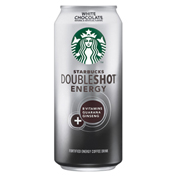 Starbucks Doubleshot Energy Drink White Chocolate 15 Oz Cans - Pack of  12