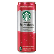 Starbucks Refreshers Strawberry Lemonade Drink 12 oz Cans - Pack of 12