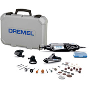 Dremel® 4000-3/34 4000-Series Variable Speed Rotary Tool Kit w/ 3 Attachments & 34 Accessories