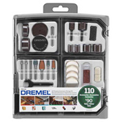 Dremel 709-02 110-Piece All-Purpose Accessory Kit for Dremel Rotary Tools