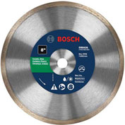 "BOSCH® Std Continuous Rim Diamond Blade For Clean Cuts, 8""Dia, 5/8"" Arbor - Pkg Qty 3"