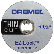 "Dremel® EZ409 1 1/2"" EZ Lock Thin Cut for Dremel® Rotary Tools"