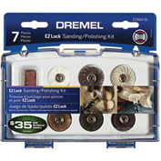 Dremel EZ684-01 EZ Lock Sanding Polishing Kit for Dremel Rotary Tools Package Count 4