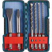 BOSCH® Bulldog SDS-Plus® Shank Bits Set, 5 Pc