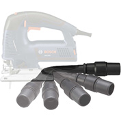 """BOSCH® Jig Saw Dust Collection Kit (Js572 Series), Conn 1-1/4"""" & 1-1/2""""VAC Hoses"""